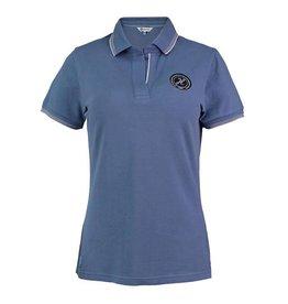 Harcour Harcour Rita Womens Polo Shirt Azure