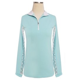 EIS EIS Cool Shirt Seabreeze/White Lace