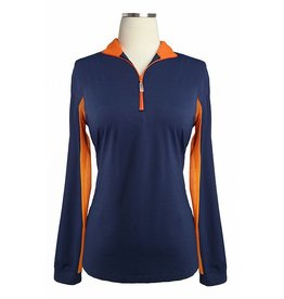 EIS EIS Cool Shirt Navy/Mandarin