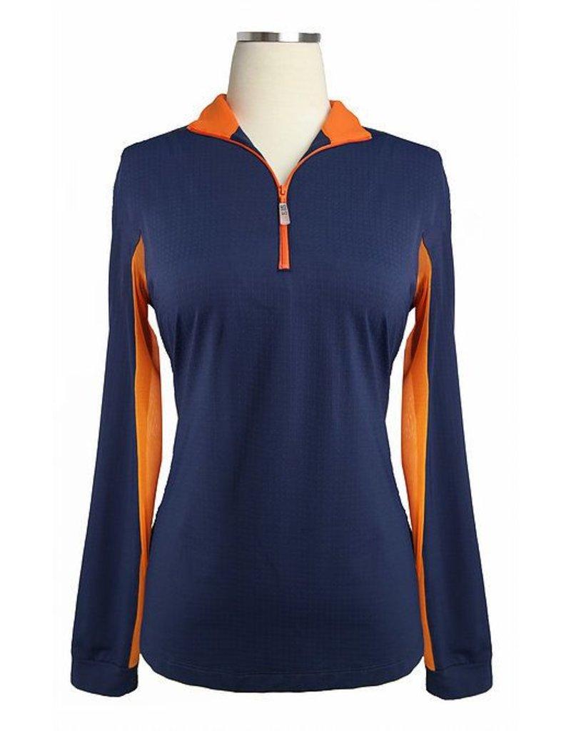 EIS Cool Shirt Navy/Mandarin