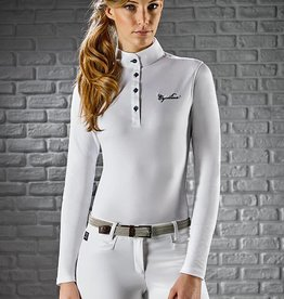 Equiline Equiline Gracielle Long Sleeve Polo Shirt