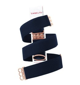 UnBelts Limited Edition Unbelt French Navy/Rose Gold