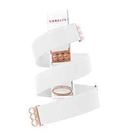 UnBelts Limited Edition Unbelt True White/Rose Gold