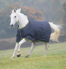 Shires Shires Tempest Rain Sheet 600D Charcoal/Lime