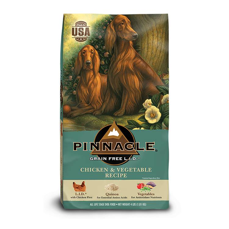 pinnacle pinnacle grain free lid chicken vegetable dog 4