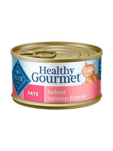 Blue Buffalo Blue Buffalo Healthy Gourmet Pate Indoor Salmon Wet Cat Food