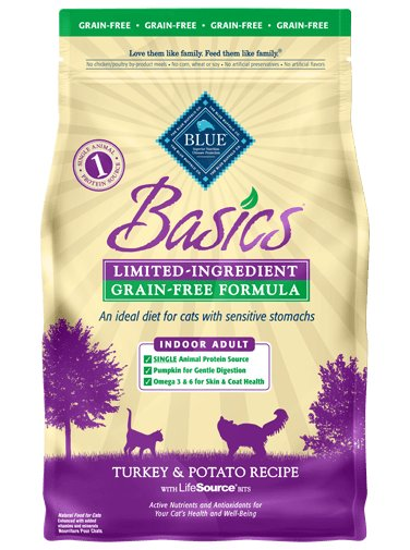 Blue Buffalo Blue Buffalo Basics Grain Free Turkey & Potato Dry Cat Food