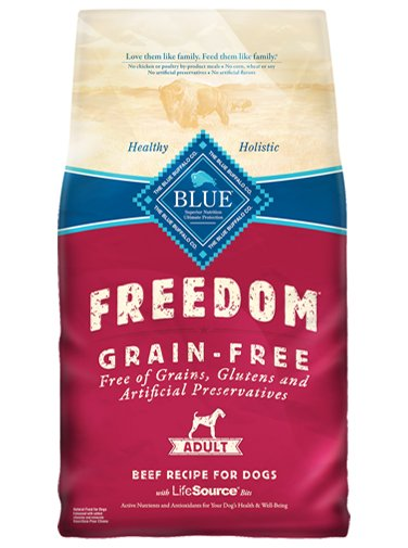 Blue Buffalo Blue Buffalo Freedom Beef Dry Dog Food