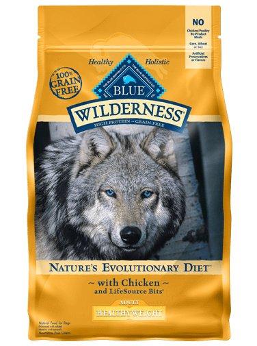 Blue Buffalo Blue Buffalo Wilderness Healthy Weight Chicken Dry Dog Food