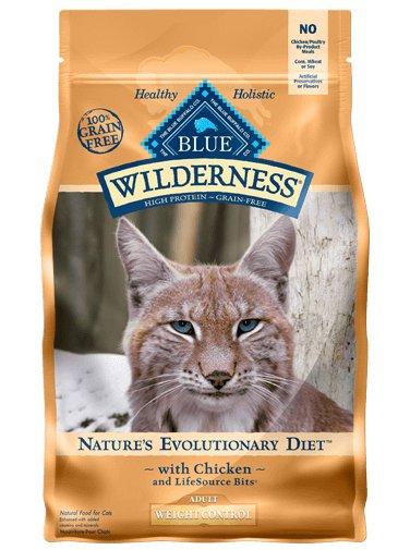 Blue Buffalo Wilderness Cat Food Weight Control