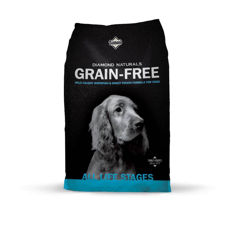 Diamond Naturals Grain Free Dog Food Ingredients