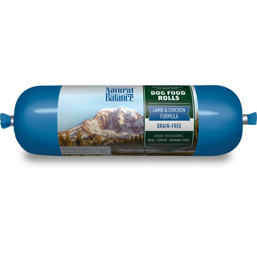 Natural Balance Dog Food Roll Lamb Formula Reviews