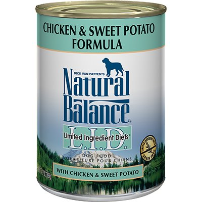 Natural Balance Lid Sweet Potato And Chicken Dog Food Reviews