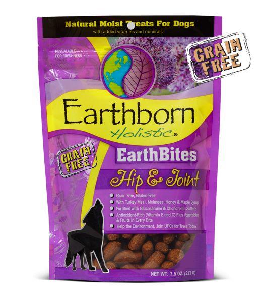 Earthborn EarthBites Hip & Joint Dog Treats 7.5oz