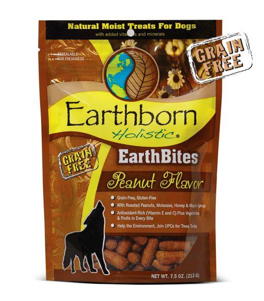 Earthborn EarthBites Peanut Dog Treats 7.5oz