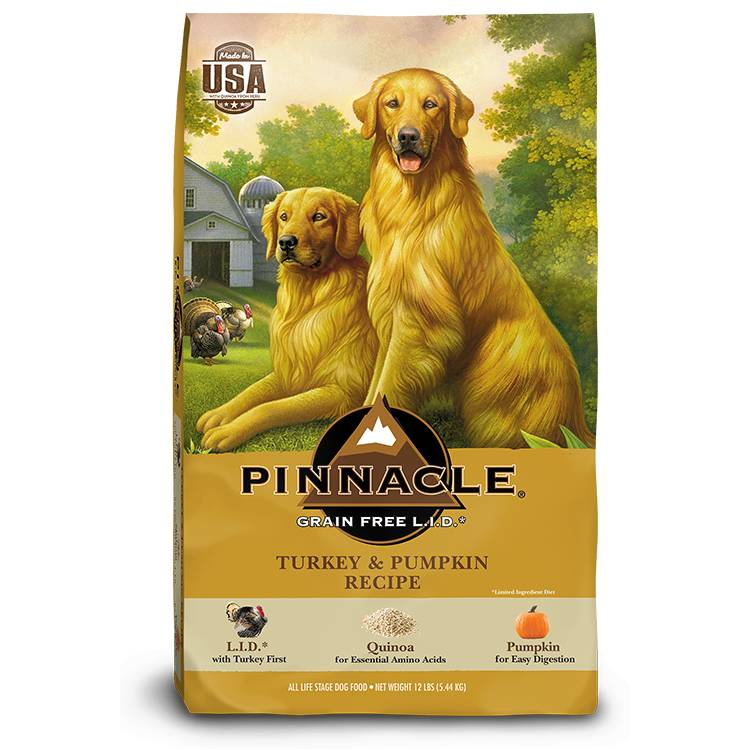 pinnacle grain free lid turkey pumpkin dry dog food everett wa