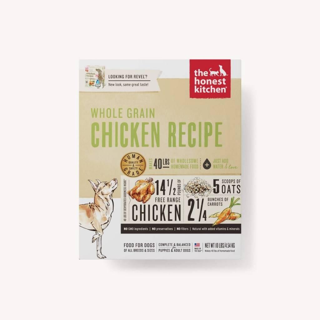 the honest kitchen the honest kitchen whole grain chicken recipe dehydrated dog food - Honest Kitchen Cat Food