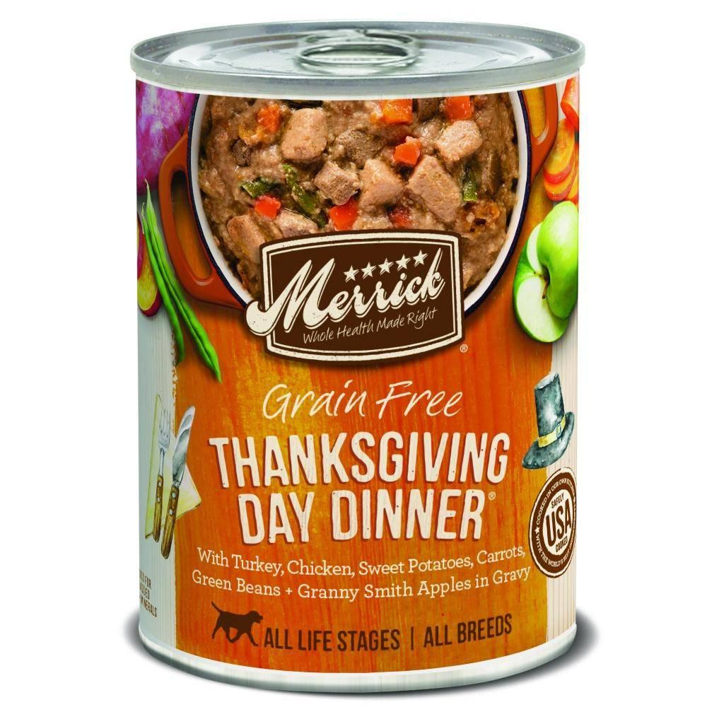 Merrick Thanksgiving Day Dinner Wet Dog Food 12.7oz