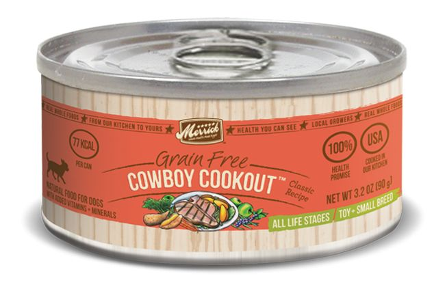 Cowboy Cookout Dog Food