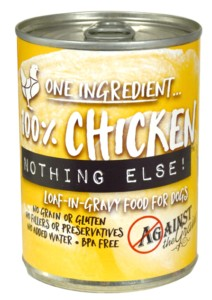 Against the Grain Against The Grain Nothing Else Chicken Wet Dog Food 11oz