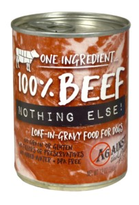 Against the Grain Against The Grain Nothing Else Beef Wet Dog Food 11oz