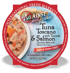 Against the Grain Against The Grain Tuna Toscano with Tomato & Salmon Wet Cat Food 2.8oz