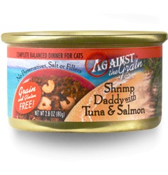 Against the Grain Against The Grain Shrimp Daddy with Tuna & Salmon Wet Cat Food 2.8oz