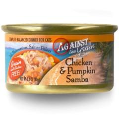 Against the Grain Against The Grain Chicken & Pumpkin Samba Wet Cat Food 2.8oz