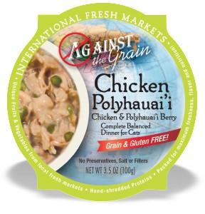 Against the Grain Against The Grain Chicken & Polyhauai'i Berry Wet Cat Food 2.8oz