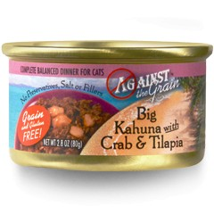 Against the Grain Against The Grain Big Kahuna with Crab & Tilapia Wet Cat Food 2.8oz