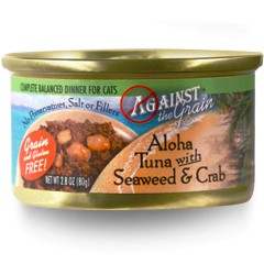 Against the Grain Against The Grain Aloha Tuna with Seaweed & Crab Wet Cat Food 2.8oz