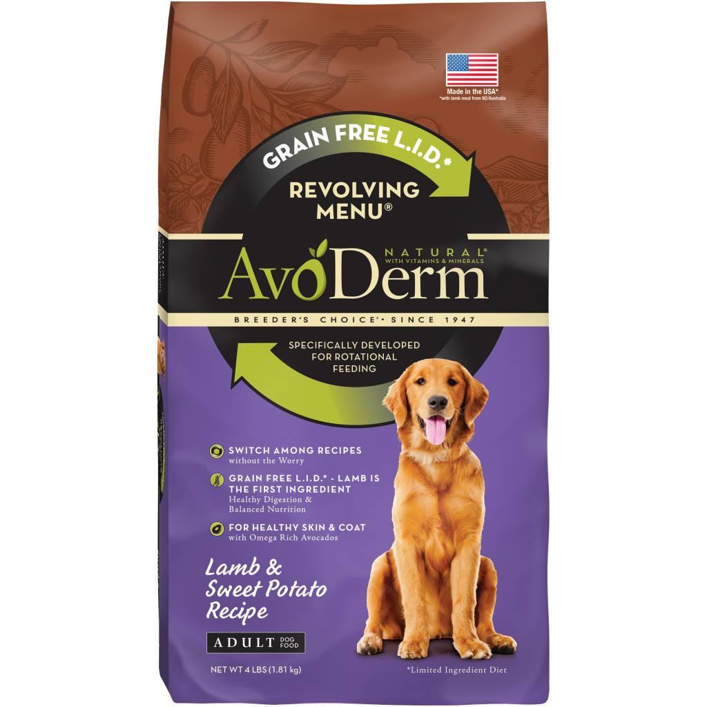 AvoDerm AvoDerm Revolving Menu Lamb Dry Dog Food
