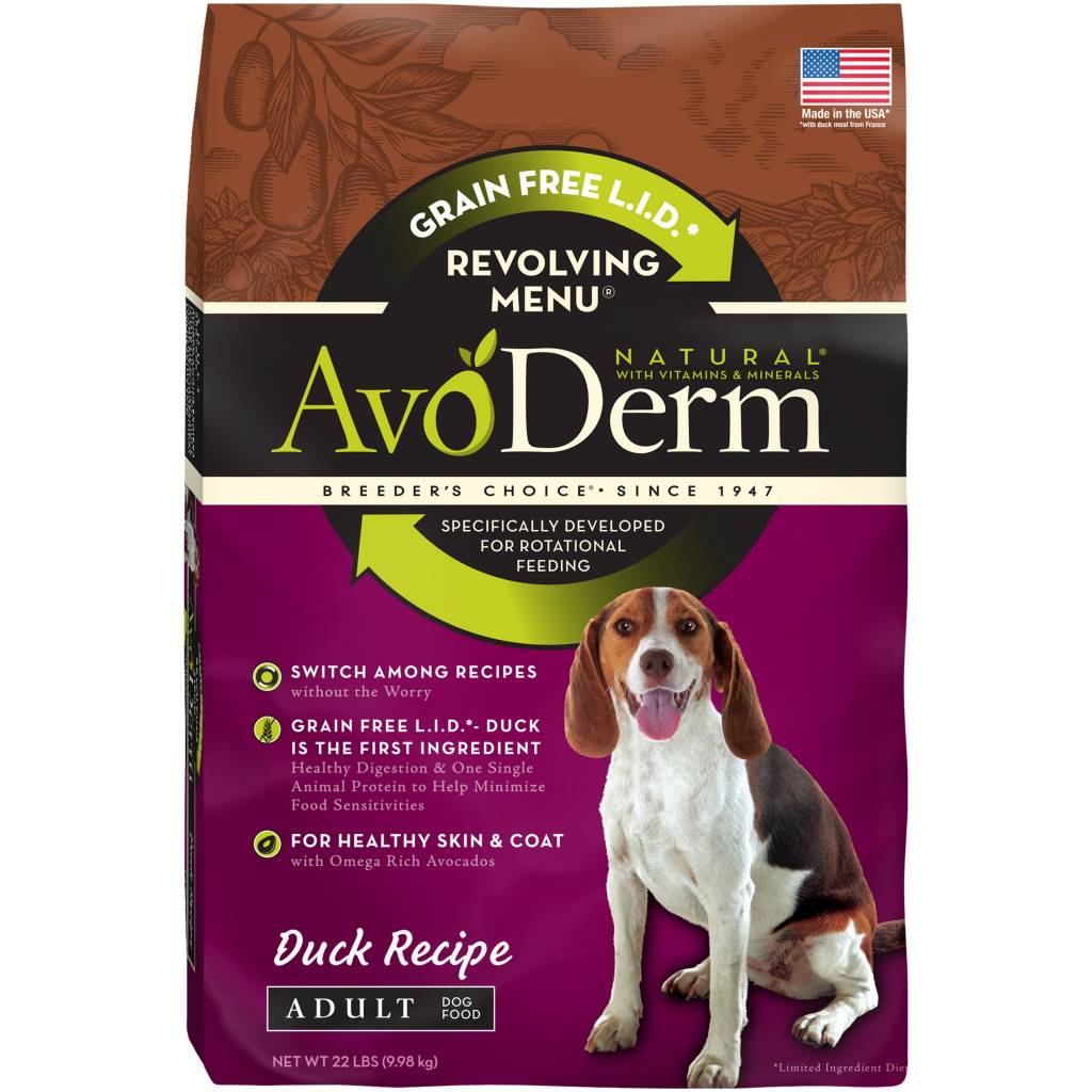 AvoDerm AvoDerm Revolving Menu Duck Dry Dog Food