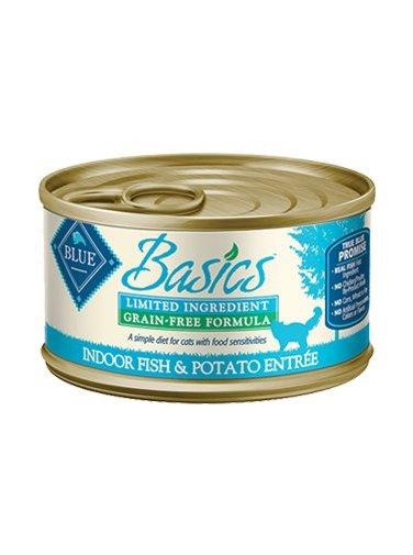 Blue Buffalo Blue Buffalo Basics Fish & Potato Wet Cat Food 3oz