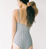 Lonely Edie swimsuit in zigzag