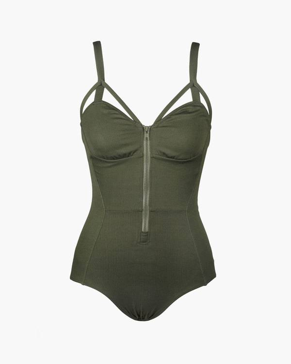 Lonely Edie swimsuit in olive