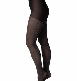 Swedish Stockings Lisa Lurex rib