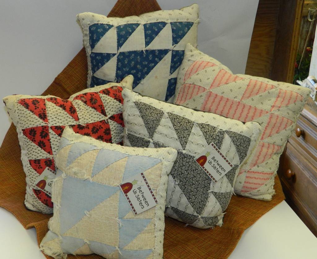 Homemade Quilted Pillow