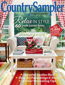 Annie's Wholesale - Country Sampler Country Sampler Magazine, July 2017
