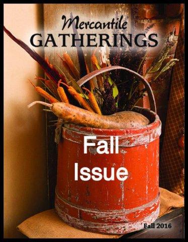 Mercantile Gatherings, Fall 2016