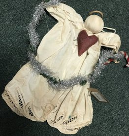 Homemade Tangled Tinsel Angel