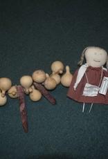Homemade Mini Gourds & Corn Garland