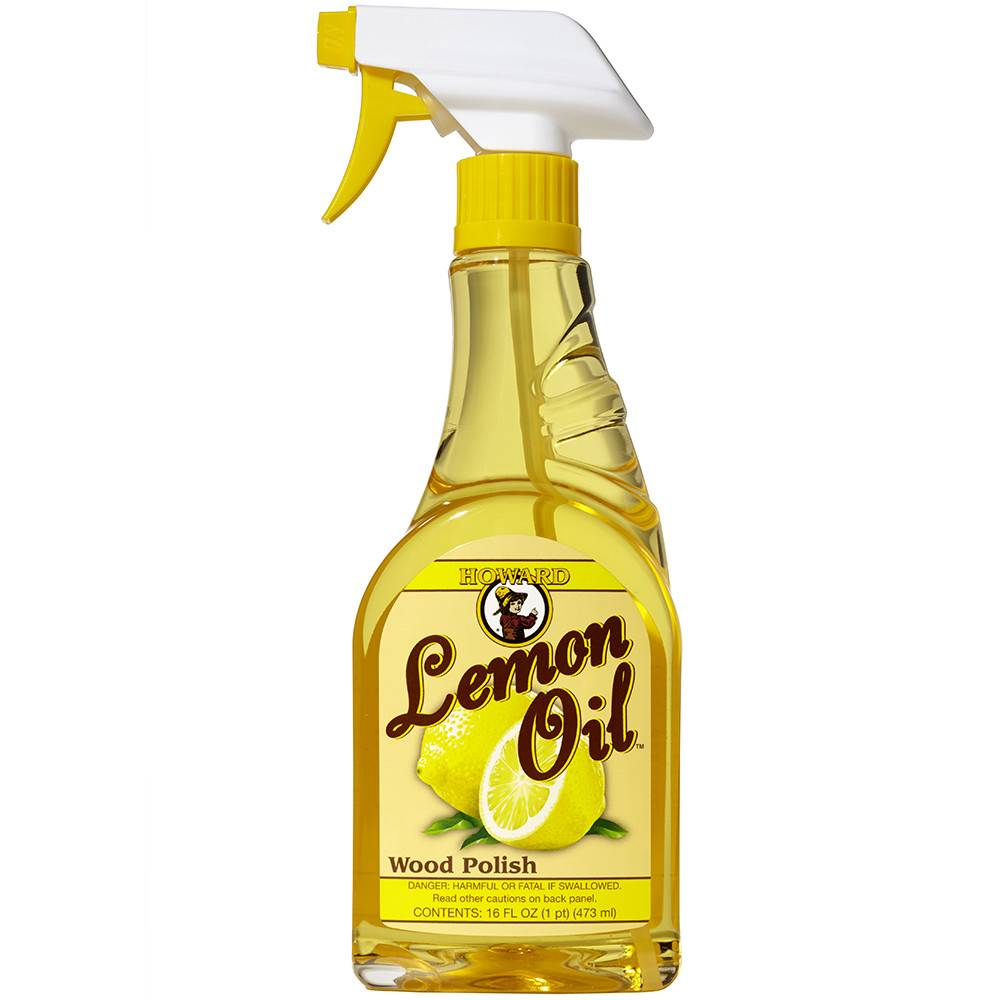 Howard Products Lemon Oil, Furniture Polish