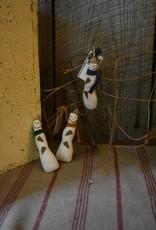 Homemade Snowman Ornament