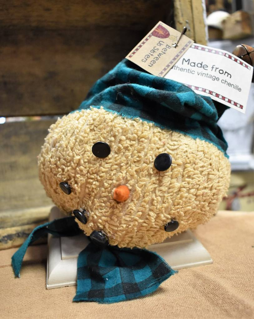 Homemade Chenille Snow Head