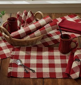 Park Designs Wicklow Placemat Garnet