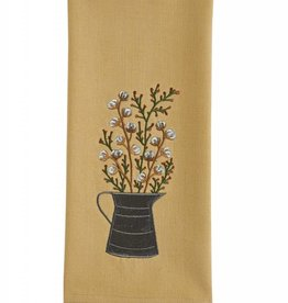 Park Designs Cotton Blossoms Dishtowel