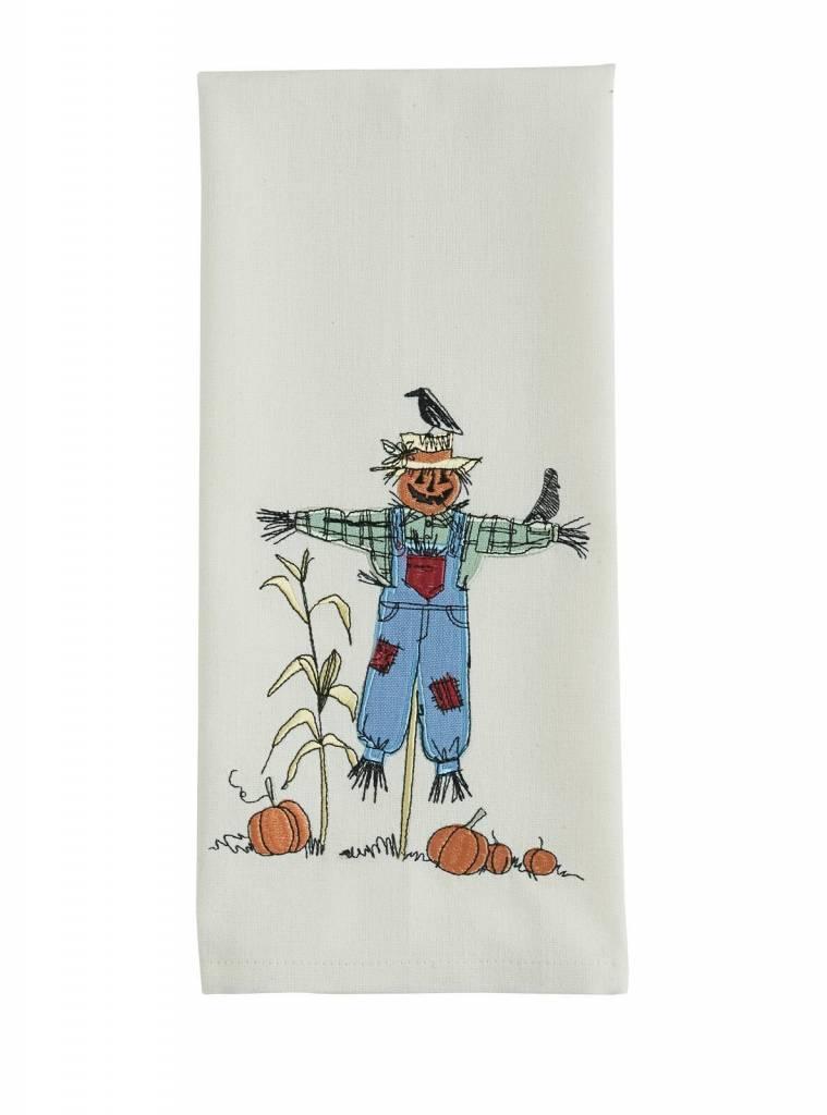 Park Designs Scarecrow Applique Dishtowel