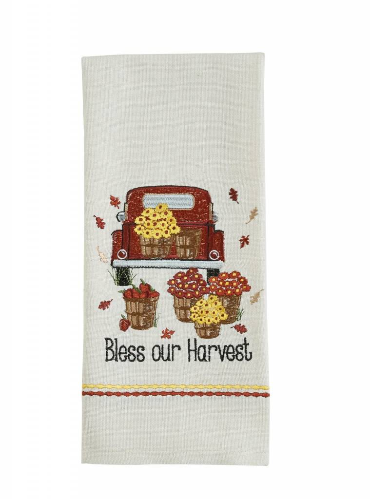 Park Designs Bless Our Harvest Dishtowel