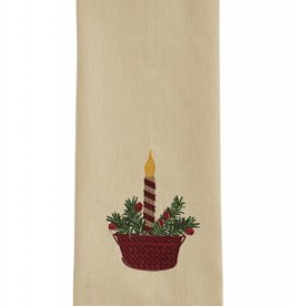 Park Designs Candle Bucket Dishtowel